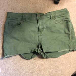 Army Green Shorts (16)